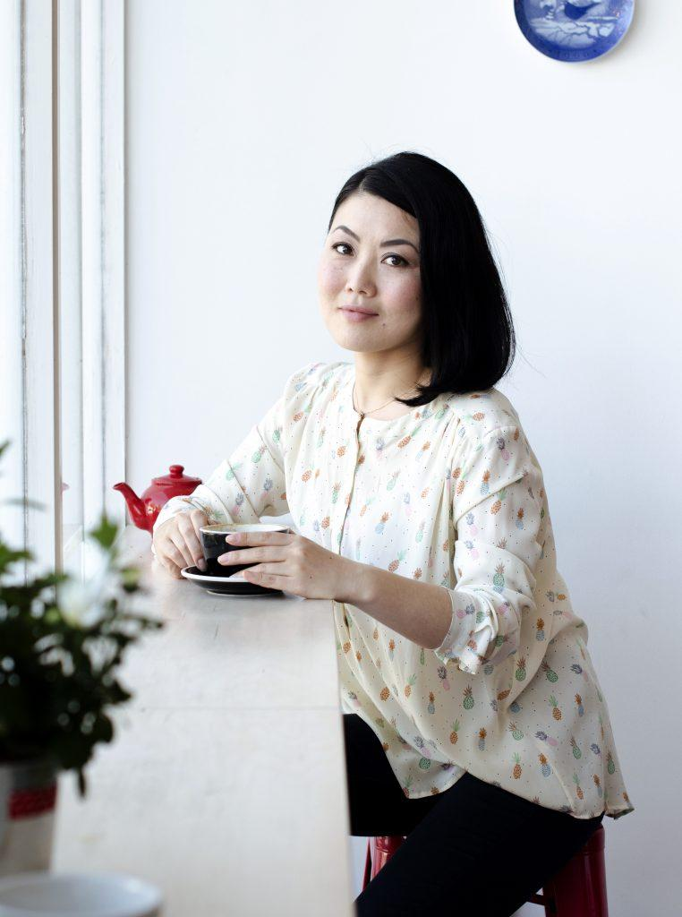 Coco Sato installation artist, speaker, origami robot, art director, event consultant. Brighton, London, UK.