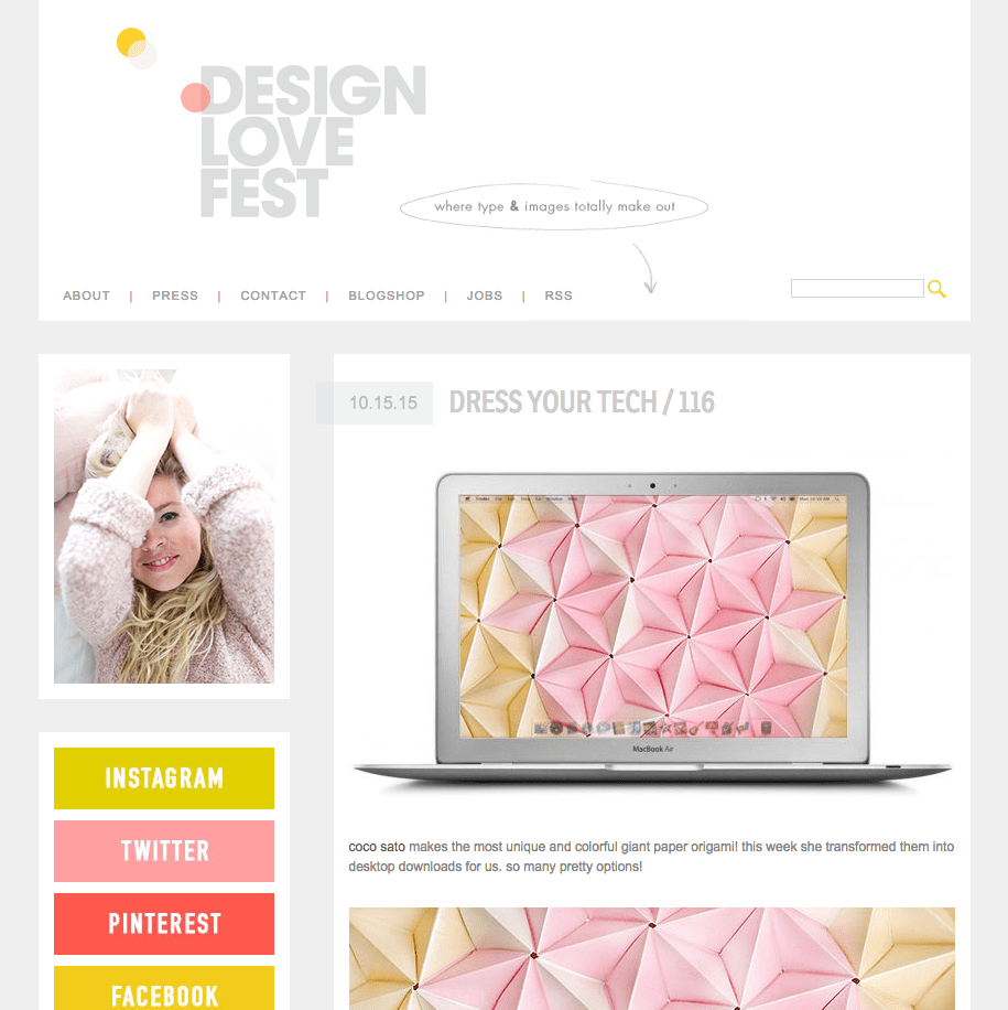 Free Downloads: Dress Your Tech at DesignLoveFest
